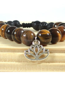 Anti-Anxiety Bracelet with Lotus