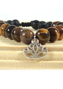 Anti-Anxiety Bracelet with Lotus