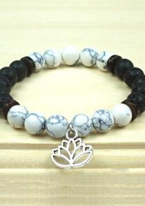 Detox Bracelet with Lotus