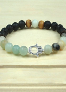 Hope Bracelet with Hand of Fatima/Hamsa