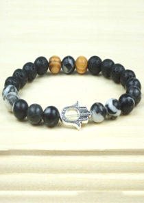 Stamina Bracelet with Hand of Fatima/Hamsa