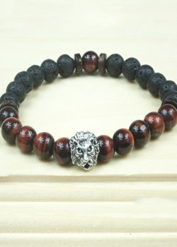 Survival Bracelet with Lion