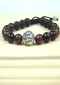 Survival Bracelet with Sanskrit Om Padme Mani Hum Bead