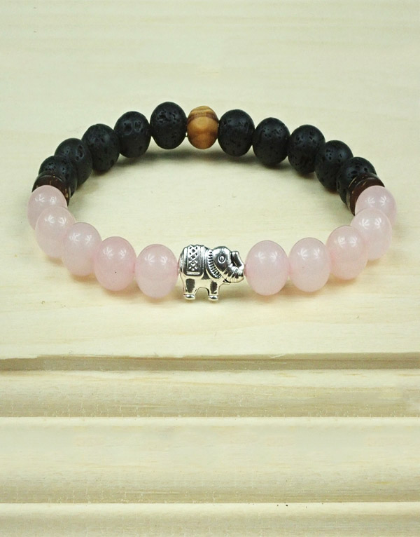 Unconditional Love Bracelet with Elephant Charm