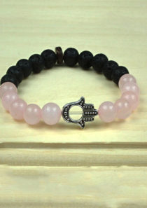 Unconditional Love Bracelet with Hand of Fatima/Hamsa